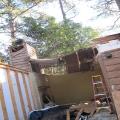 Tree fell through house, Athens GA