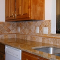 Tile backsplash Athens GA