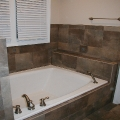 Tile tub surround, Bogart GA