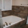 Tile tub surround, Bogart GA